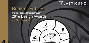 2016 New Zealand Plastics Industry Design Awards Entries Book