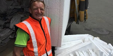 Recycled polystyrene on the rise as quick cost-effective option for aiding construction